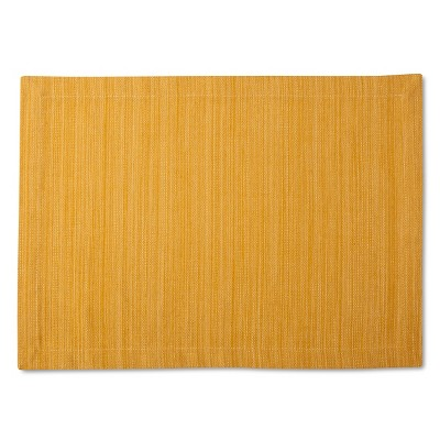 Threshold™ Yellow Solid Placemat
