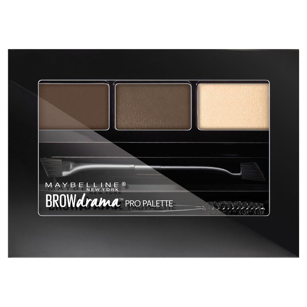 Maybelline Eye Studio Brow Drama Pro Palette - 260 Deep Brown