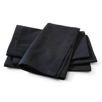 Threshold Black Napkin Set of 4
