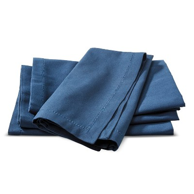 Napkins Set of 4 Blue - Threshold
