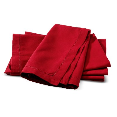 Threshold Red Napkin Set of 4