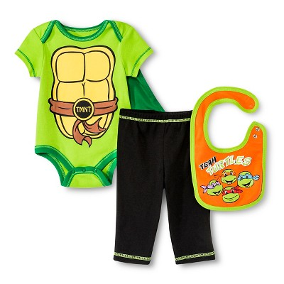 Newborn Boys' 5-Piece Teenage Mutant Ninja Turtles Gift Set