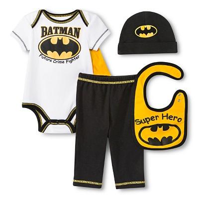 Newborn Boys' 5-Piece Batman Gift Set