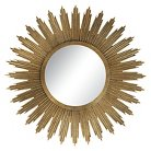 Harleston Wall Mirror - Aged Gold