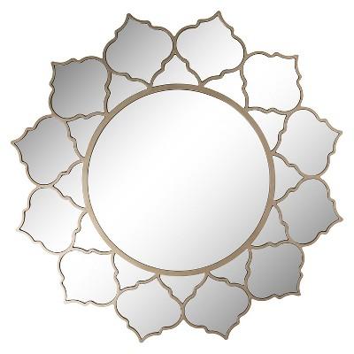 Rufford Wall Mirror - Champagne