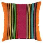 Jordan Set of Square Toss Pillows - Rainbow