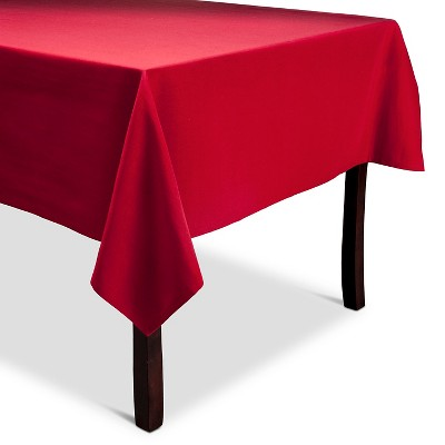 Threshold Red Tablecloth 60x104