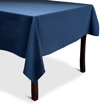 Threshold Blue Tablecloth 60x84