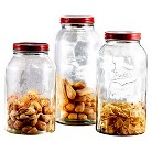 American Atelier Glass Canister Set