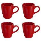 American Atelier Bistro Mugs Set of 4