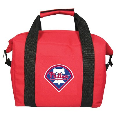 Ecom Beverage Cooler MLB 3.75gallon PHILLIES Red