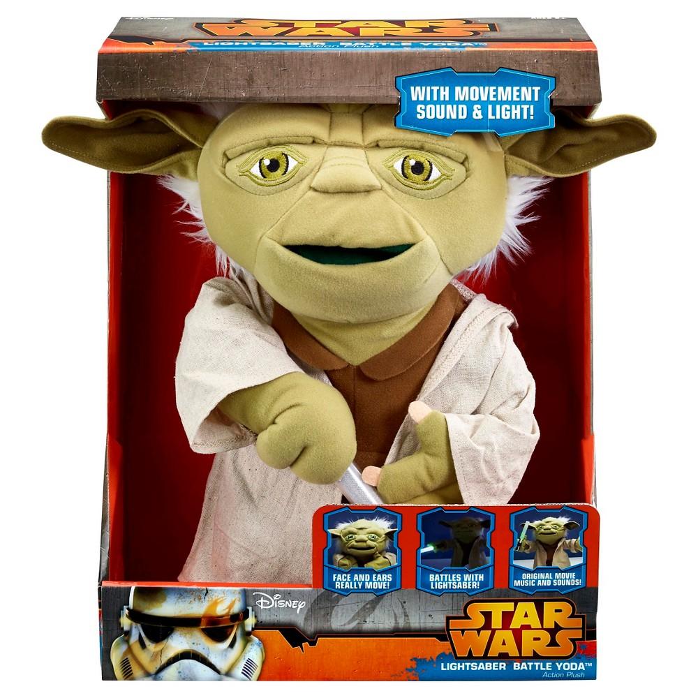 Star Wars Lightsaber Battle Yoda