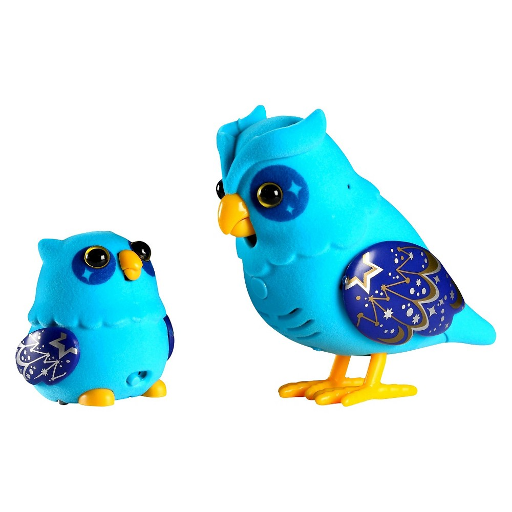 Little Live Pets Tweet Talking Owl and Baby - Nightstar Family