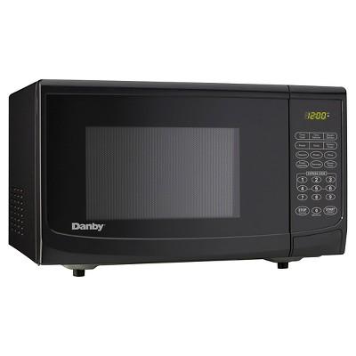 Danby 0.7 Cu. Ft. 700 Watt Microwave Oven - Black DMW077BLSD