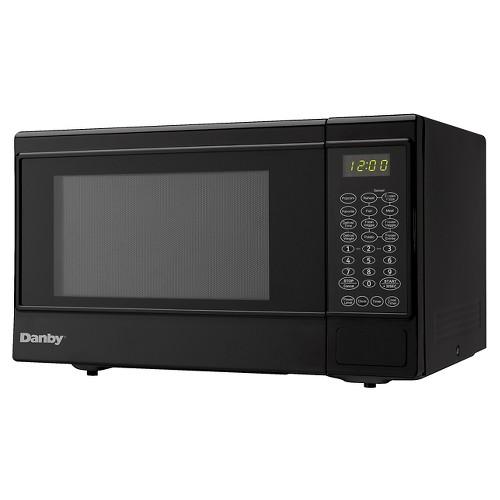 danby 1 4 cu ft 1100 watt microwave oven black dmw14sa1bd ebay. Black Bedroom Furniture Sets. Home Design Ideas