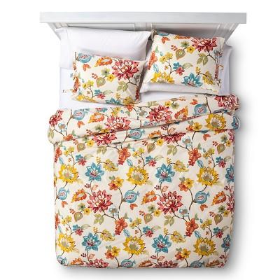 homthreads™ Floral Kelsey Duvet Set - Multi-Colored (King)