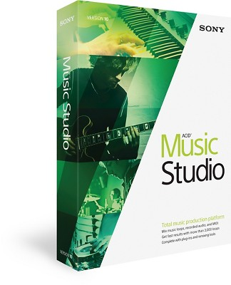 Sony Music Studio Acid Version 10
