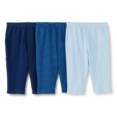 Newborn Boys' Trouser - Alabaster Blue NB