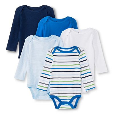Newborn Boys' Bodysuit - Nighttime Blue 0-3 M