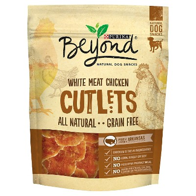 Beyond White Meat Chicken Cutlets Natural Dog Snack - 2.7 oz