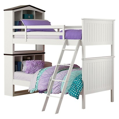 Kids Bed: Castle Heights Bunk Bed