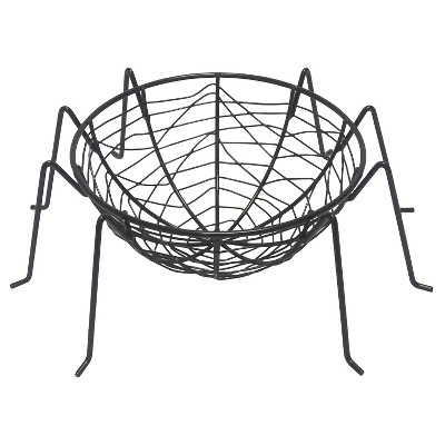 Halloween Metal Candy Bowl - Spider