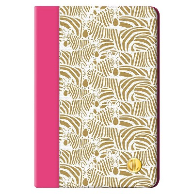 Dabney Lee Zebra Mini iPad Case - Gold