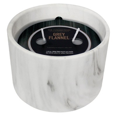 Urban Collection Grey Flannel Marble Jar Candle
