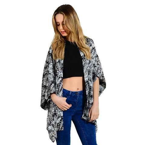 Dolman Sleeve Kimono - Fashion Union