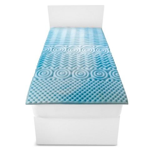 Room Essentials™ fy Foam Mattress Topper Tar