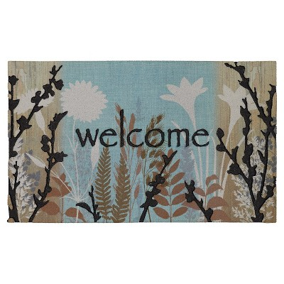 "Mohawk Woodgrain Botanical Doormat - Multi-Colored (1'6""x2'6"")"