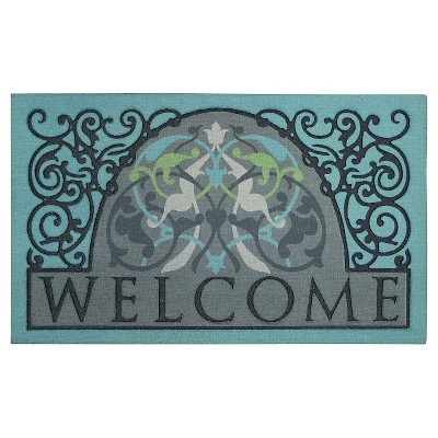 "Mohawk Scroll Sediment Doormat - Multi-Colored (1'6""x2'6"")"