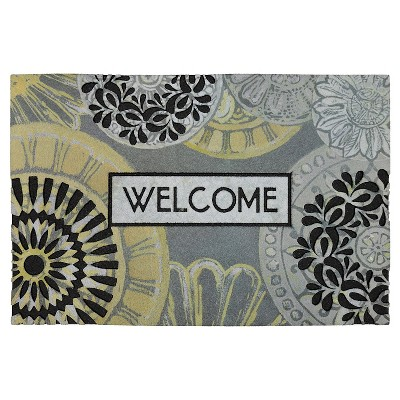 "Mohawk Circular Memories Doormat - Multi-Colored (1'6""x2'6"")"
