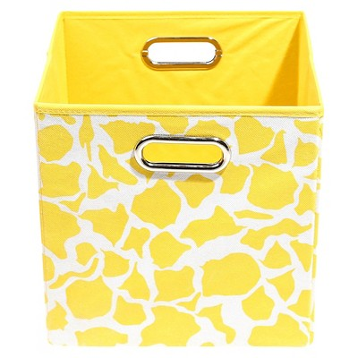 Modern Littles Giraffe Storage Bin - Orange