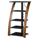 "Whalen Payton 5 Shelf Audio Tower - Black (48"")"