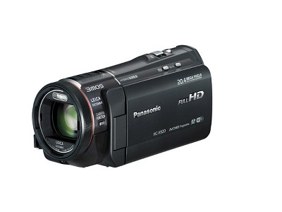 Panasonic 3MOS system Pro Flash Memory Digital Camcorder with the BSI Sensor - Black (HC-X920K)