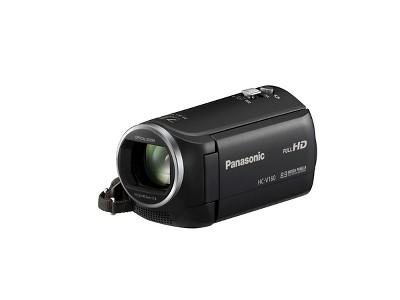 Panasonic HC-V160 Flash Memory Digital Camcorder with Built-in WiFi - Black