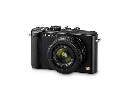 Panasonic Lumix 10.1 MP Digital Camera with 4X Optical Zoom - Black (DMC-LX7K)