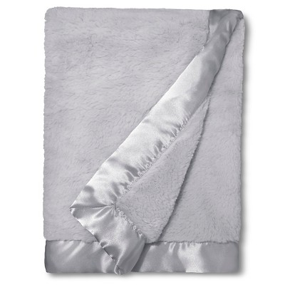 Circo™ Cuddle Plush Blanket - Gray