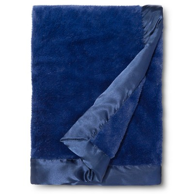Circo™ Cuddle Plush Blanket - Navy