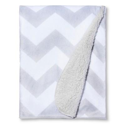 Circo™ Valboa Baby Blanket - Gray Chevron