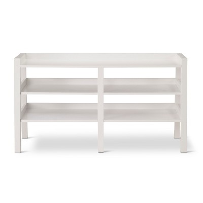 Lowry Leaning TV Stand - White
