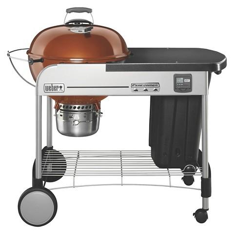 weber performer premium charcoal grill target. Black Bedroom Furniture Sets. Home Design Ideas