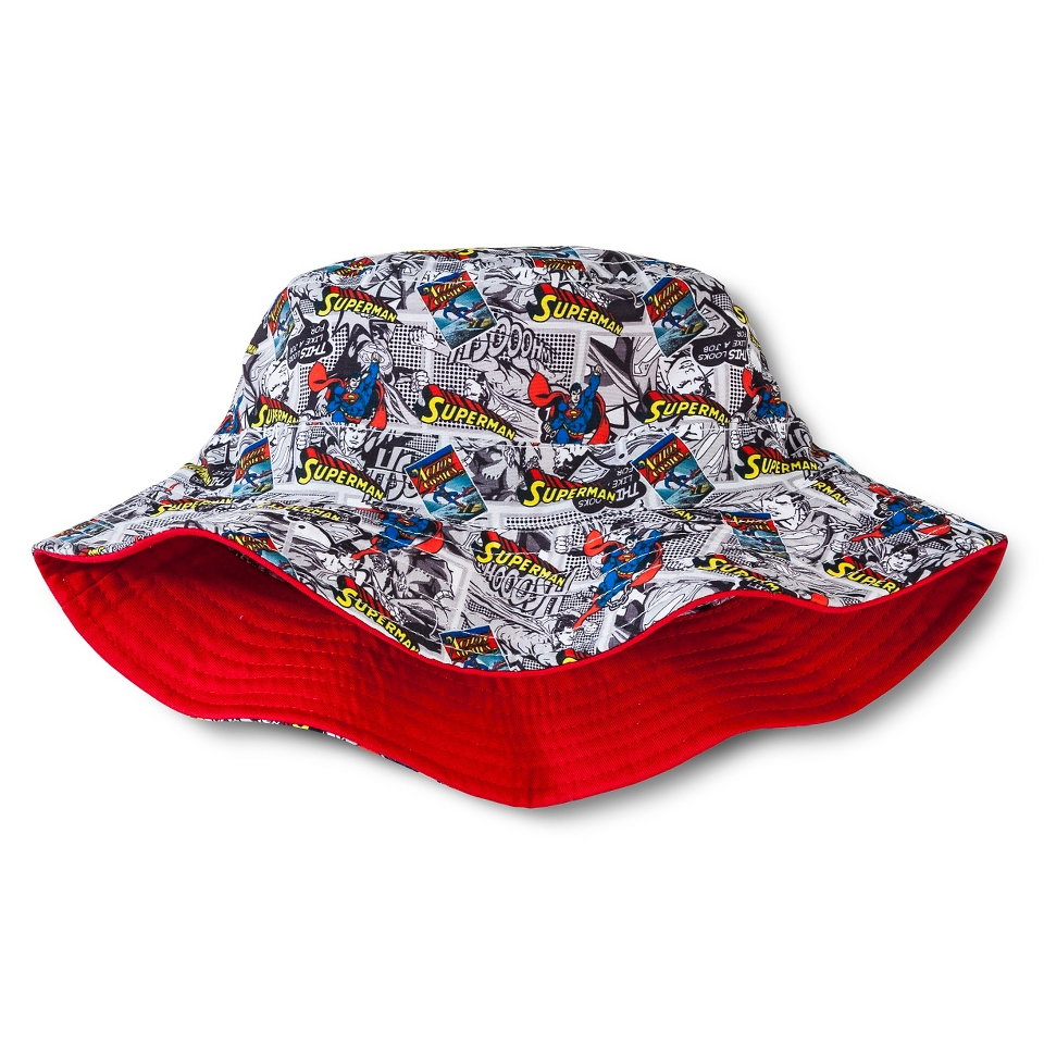 626e32bef3d7d Superman Boys Bucket Hat Red on PopScreen