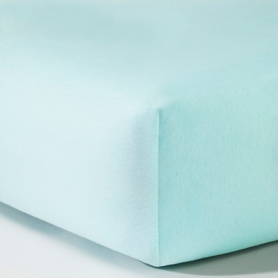 Circo™ Knit Fitted Crib Sheet - Aqua