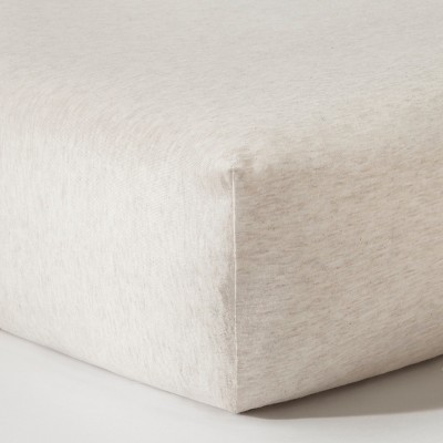 Circo™ Knit Fitted Crib Sheet - Heather Oatmeal