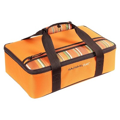 Rachael Ray Lasagna Lugger - Orange Stripe