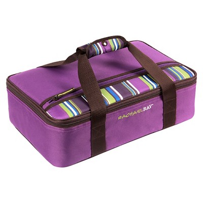 Rachael Ray Lasagna Lugger - Purple Stripe