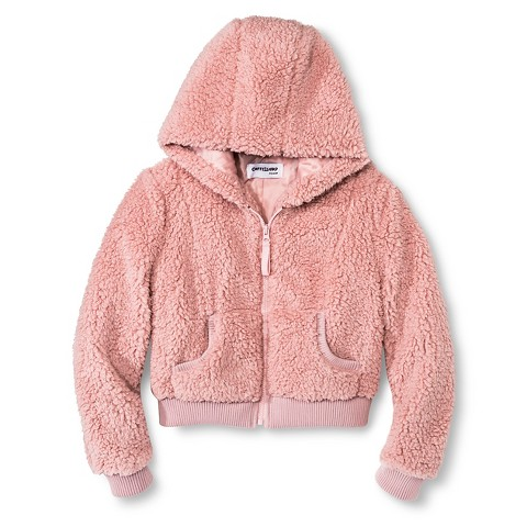 Girls' Fleece Zip Up Jacket