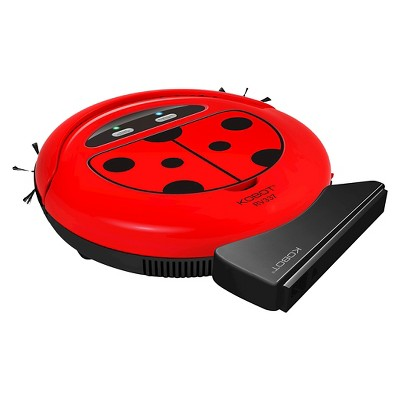 KOBOT RV337 Robotic Vacuum & Hard Floor Cleaner - Lady Bug
